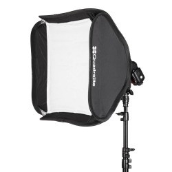 Quadralite Litebox 50x50cm softbox do lamp reporterskich