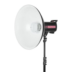 beauty dish 55 white 2