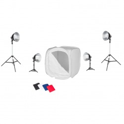Quadralite LH-40 shadowless photography kit